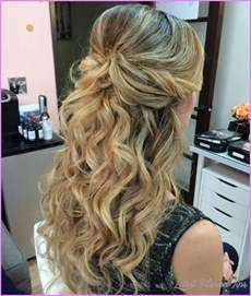long hairstyles half up half down latest fashion tips