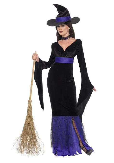 halloween costumes women s glamorous witch costume