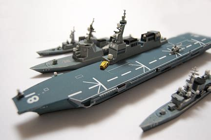 Hyuga Class Helicopter Destroyer Ship 11250 F Toys hinata completed ddh 181 hyuga class helicopter destroyer