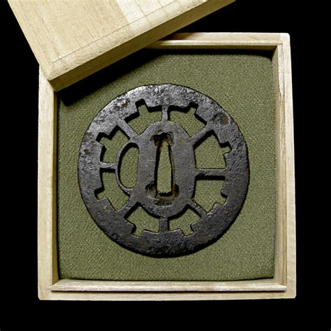 merchandise list buy tsuba japanese antique sword guards