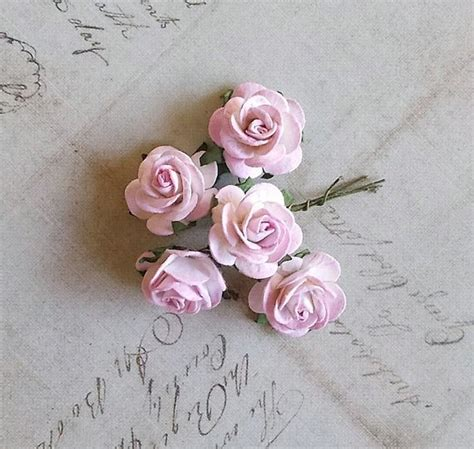 Paper Flowers For Scrapbooking - mulberry paper flowers for scrapbooking and card light