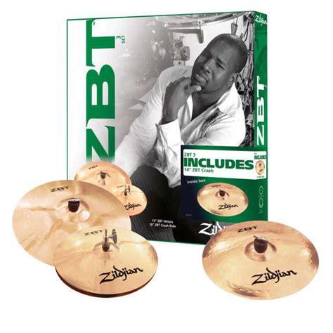 Cymbal Zildjian Starter Box Set Zbts3p 9 Uk 13 16 18 1 zildjian zbt 3 cymbal pack with free 14 quot crash cymbal packs and cymbal sets cymbals gongs