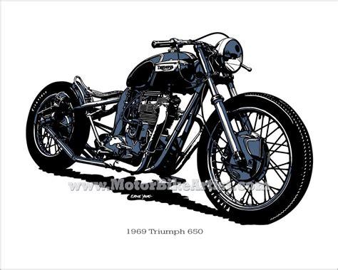 triumph tattoo designs vintage motorcycle designs triumph bobber vintage