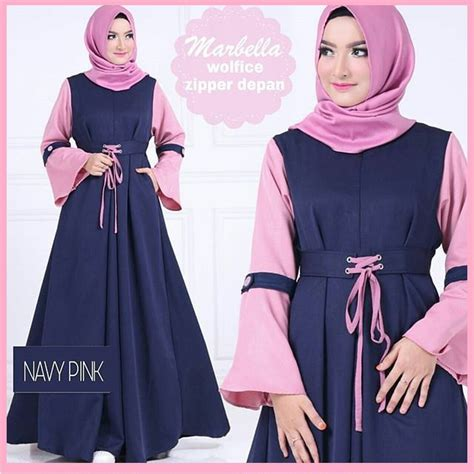Gamis Murah Shopee Termurah Dress Balotelli Muslim Wanita Baju Murah Dress