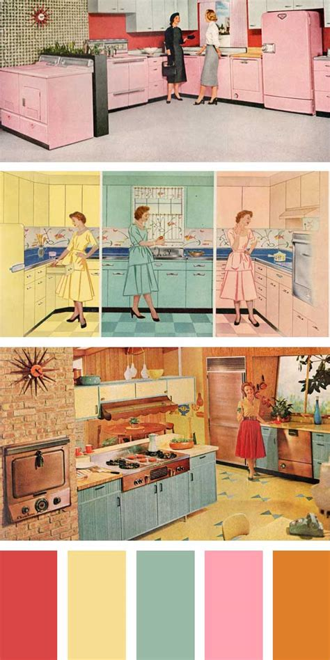 Kitchen Colors Of The 1950 S Kitchen Colors Colors Through The Years 1950 1960 And