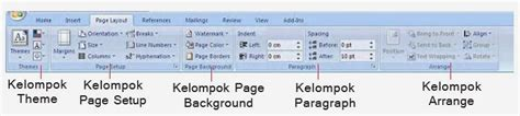 fungsi layout pada ms word fungsi tab menu page layout microsoft excel 2007 ms word