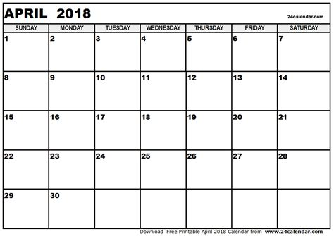 printable calendar i can add events april 2018 calendar template printable monthly calendar