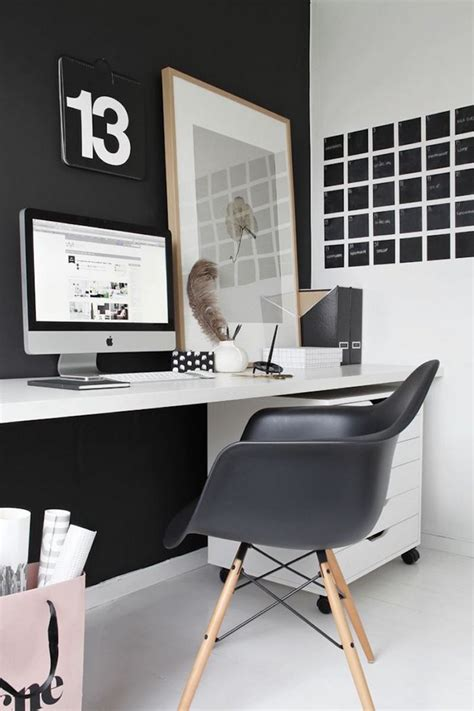 the best furniture for a luxury black home office