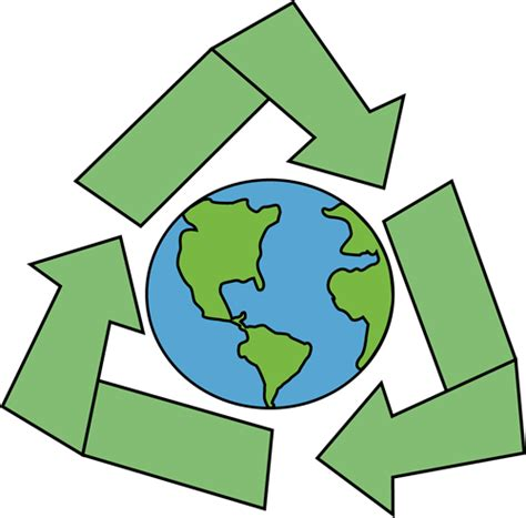 free printable clip art recycling earth with recycle symbol clip art earth with recycle