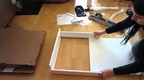 schublade zusammenbauen tutorial ikea maximera mittel 15 cm k 252 chenschublade