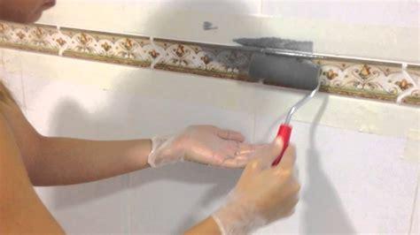 quitar cenefas de la pared cambiar cenefa de concina sin obras youtube