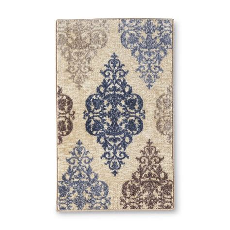 maples industries rugs upc 010892610157 essential home gallery damask accent rug 20 x 34 maples industries inc