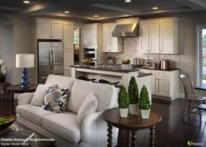 kitchen living beautiful open kitchen and living room area the feel