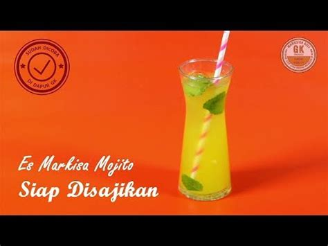 Sirup Markisa Gk Black Label 630ml es markisa mojito