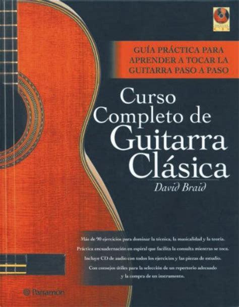 curso completo de guitarra 8434227347 caligrafia p 250 blico libros