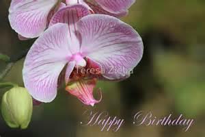 Duvet Covers Winnipeg Quot Happy Birthday Orchid Card Quot By Teresa Zieba Redbubble