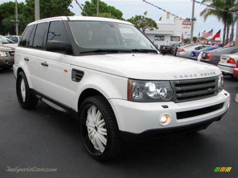 2007 range rover sport hse 2007 land rover range rover sport hse in chawton white