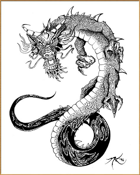 chinese dragon tattoo design picture of tattoos designs
