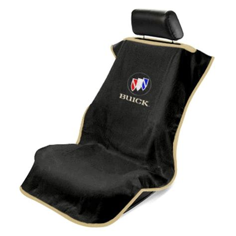 Buick Seat Covers Seat Armour 174 Sa100bckb Black Towel Seat Cover With Buick