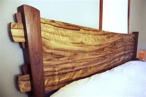 natural wood headboards wood slab headboards and design on pinterest