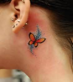 small butterfly tattoos behind the ear 586 best tattoosbasket images on semicolon