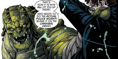 Sts45 Tas P Da Croco killer croc finally beats bane batman eternal 38