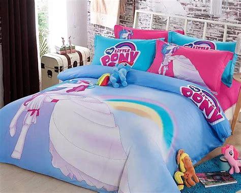 cotton    pony bedding set girls