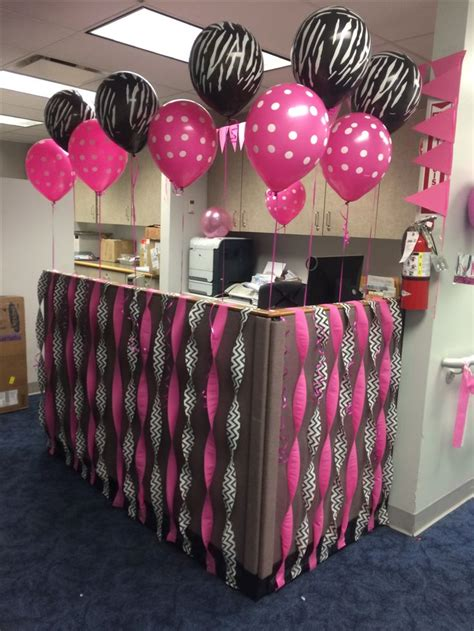 Office Desk Birthday Decoration Ideas 25 Best Ideas About Cubicle Birthday Decorations On