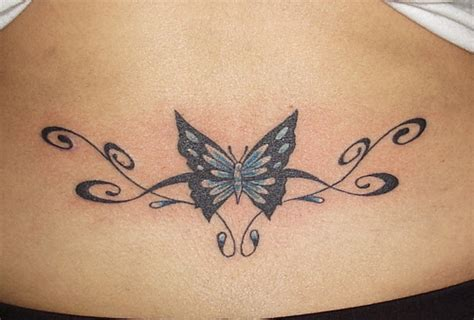 butterfly tramp stamp tattoo picture at checkoutmyink com