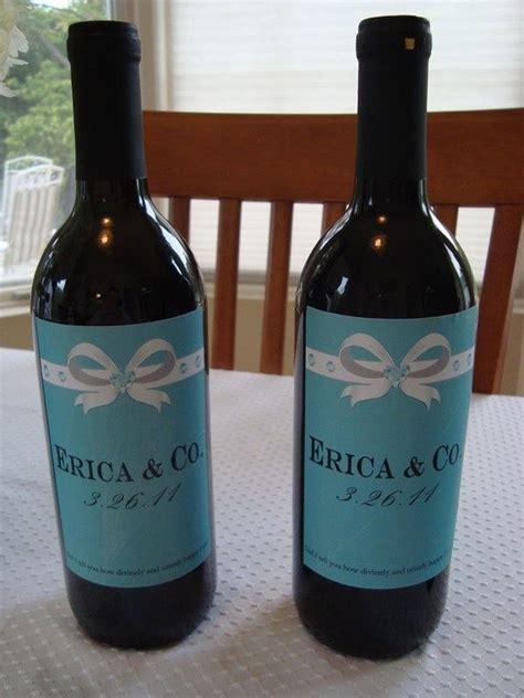 free printable bridal shower wine labels wine bottle labels bridal shower or wedding printable
