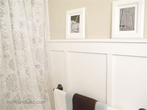 diy bathroom walls thrifty and chic diy projects and home decor