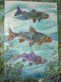 fish sea quilt quilts quilting ideas