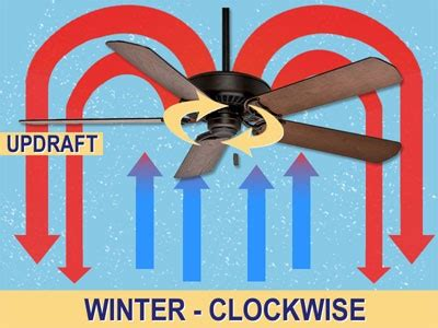 Ceiling Fan Direction In Winter Months by Fall Home Maintenance Forest Glen Construction