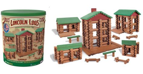 lincoln logs target store lincoln logs 332 collectors set 54 99 50