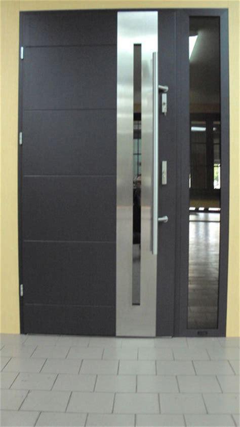 Stainless Steel Front Doors Modern Front Stainless Steel Entry Door Modern Front Doors New York By Ville Doors