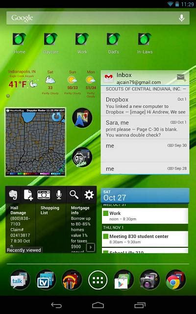 Home Screen Layout Strategy | your homescreen layout strategy android forums at
