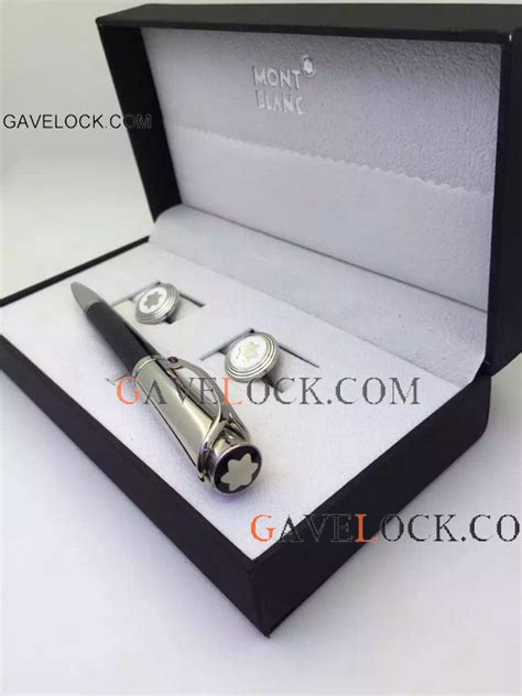 replica montblanc princess monaco ballpoint pen and silver