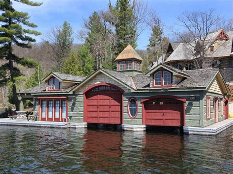 boat house lake country muskoka lakeside country estate with boathouse idesignarch interior design