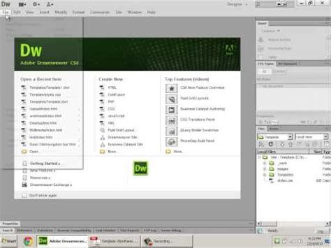 free html5 templates for dreamweaver how to create html5 templates in dreamweaver