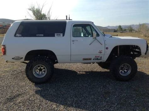 ramcharger prerunner walker tribute dodge ramcharger prerunner