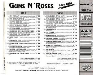 guns n roses mp3 download stafaband guns n roses live usa 2 cd 1991 bootleg live