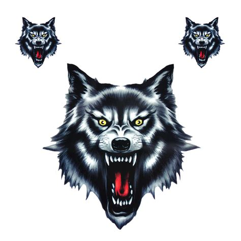 Wolf Stickers popular wolf decals buy cheap wolf decals lots from china