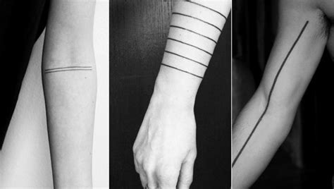straight line tattoos meaning 1000 ideas about line tattoos on color