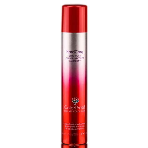 color hairspray colorproof epic hold color protect hairspray