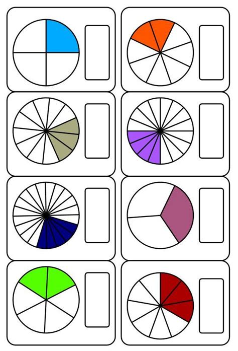 imagenes matematicas de fracciones las 25 mejores ideas sobre fracciones en pinterest