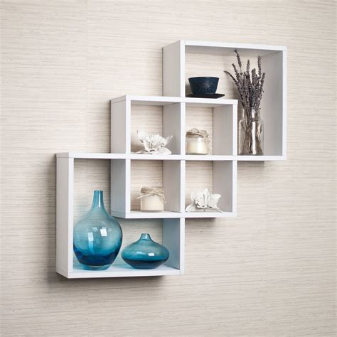 Square Hanging Shelves Top 15 Floating Wooden Square Wall Shelves To Buy