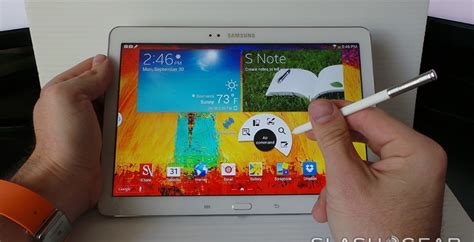 galaxy note 10 1 2014 edition review far from perfect samsung galaxy note 10 1 2014 edition review slashgear