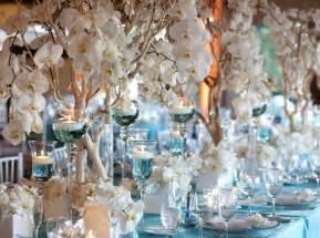 blue wedding blue wedding centerpieces wedding and bridal inspiration