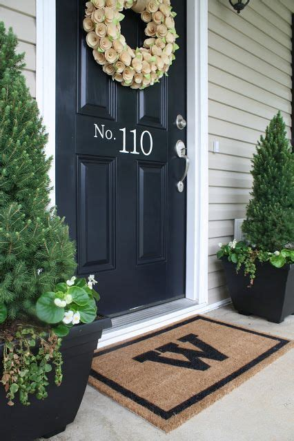 Front Porch Door Mats Welcome Mats Porch Ideas And Front Porches On