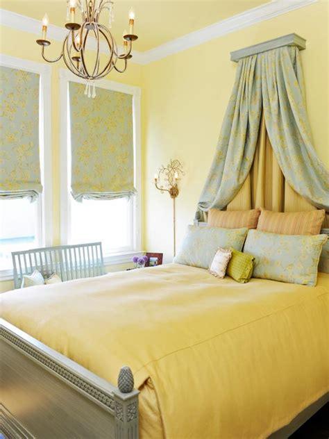 cheery yellow bedrooms hgtv